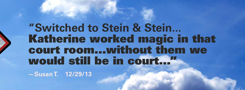 Stein and Stein Testimonial